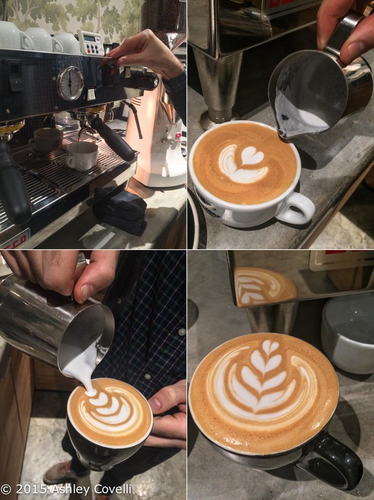 Toby's Estate Latte Art Class