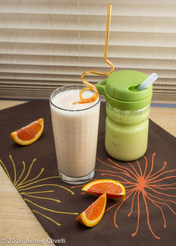 Mom & Tot Creamsicle Smoothies