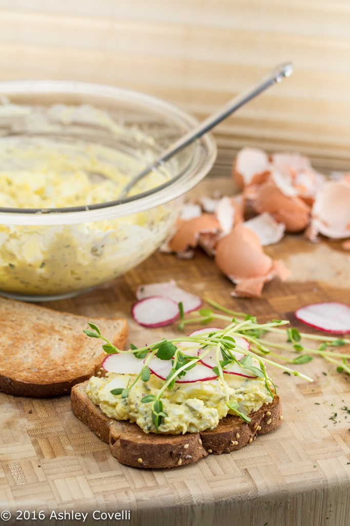 French-Inspired Egg Salad Sandwiches