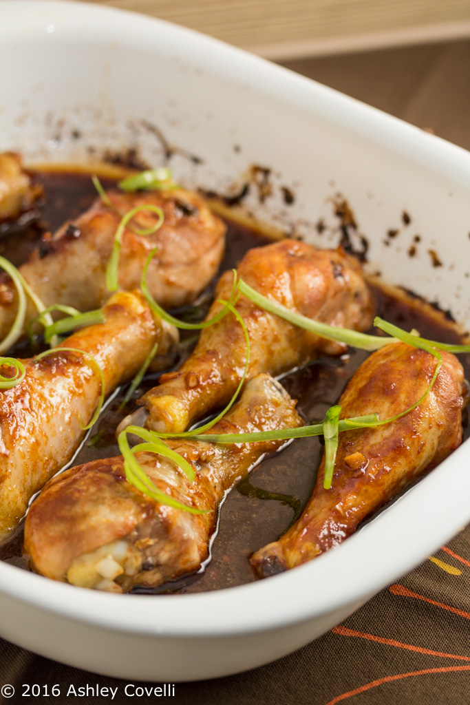 Sweet Asian Baked Chicken Drumsticks