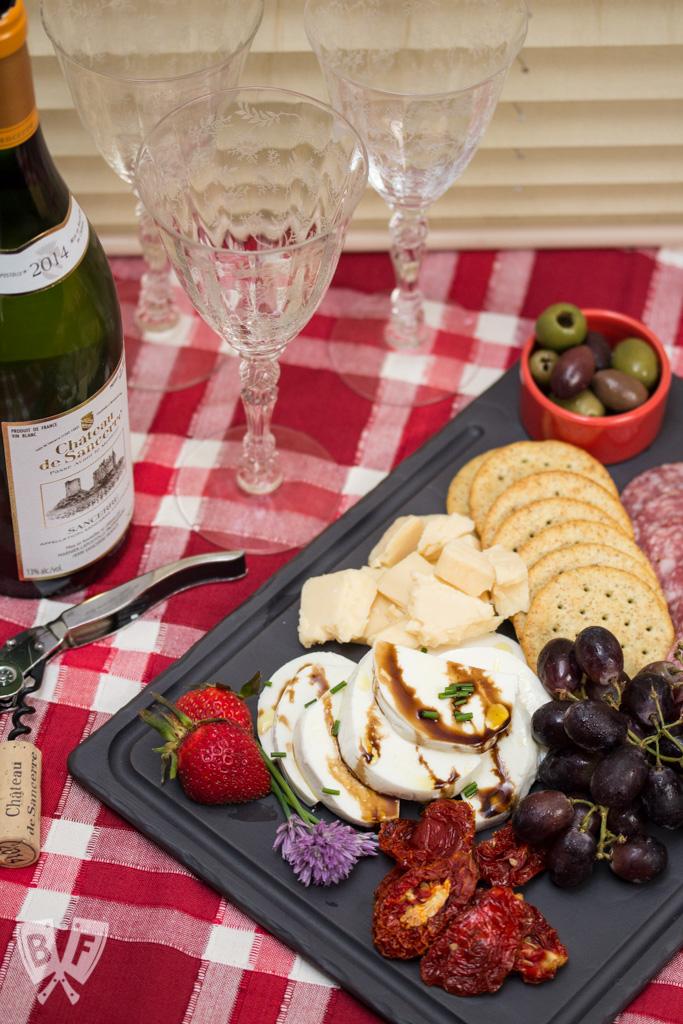 Wine + Cheese Spread