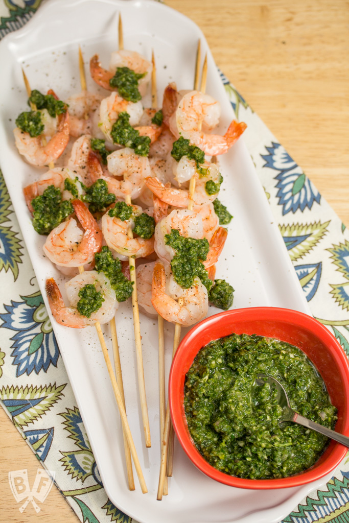 Chimichurri Shrimp: A quick and simple weeknight recipe, perfect as an appetizer or main course.