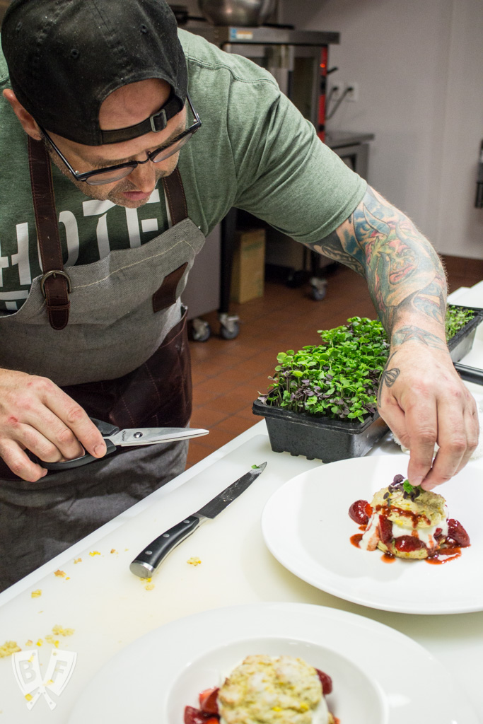 Big Flavors from a Restaurant Kitchen Volume 11: Tolon - This installment features a Q&A with international award-winning Chef Matthew Nolot who recently opened the first farm-to-fork restaurant in my hometown of Fort Wayne, Indiana.