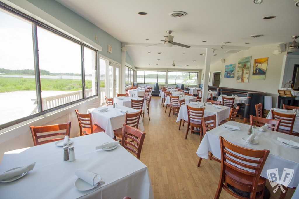 This installment of #BigFlavorsFromARestaurantKitchen features a favorite upscale coastal restaurant + raw bar in Bethany Beach, Delaware + Q&A with Chef Douglas Ruley, who shares his tips for successful seafood dishes.