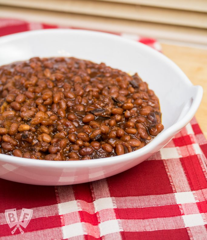 "Instant Pot ""Baked"" Beans: Bacon and molasses take this sweet-and-salty side dish to the next level!"