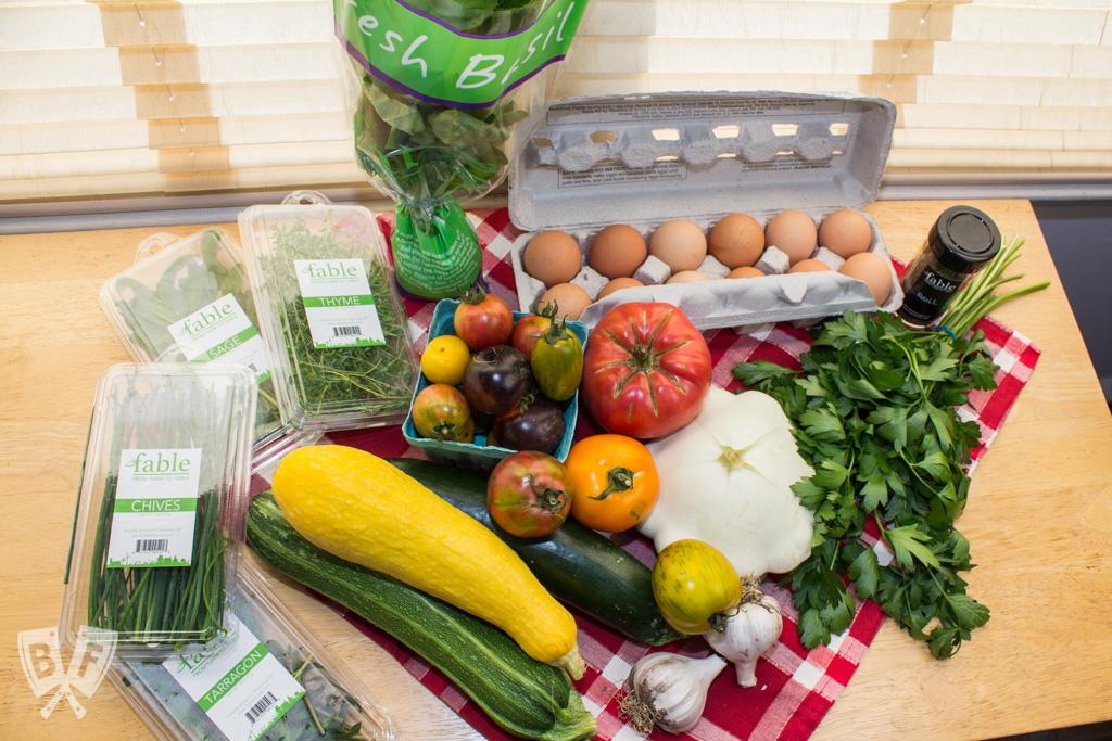 Farm-fresh produce & eggs from Fable #BigFlavorsFromTheFarm