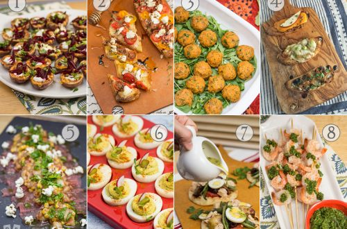 New Year's Eve Appetizer Roundup: Ring in the New Year with our favorite party food starter recipes from the past year!