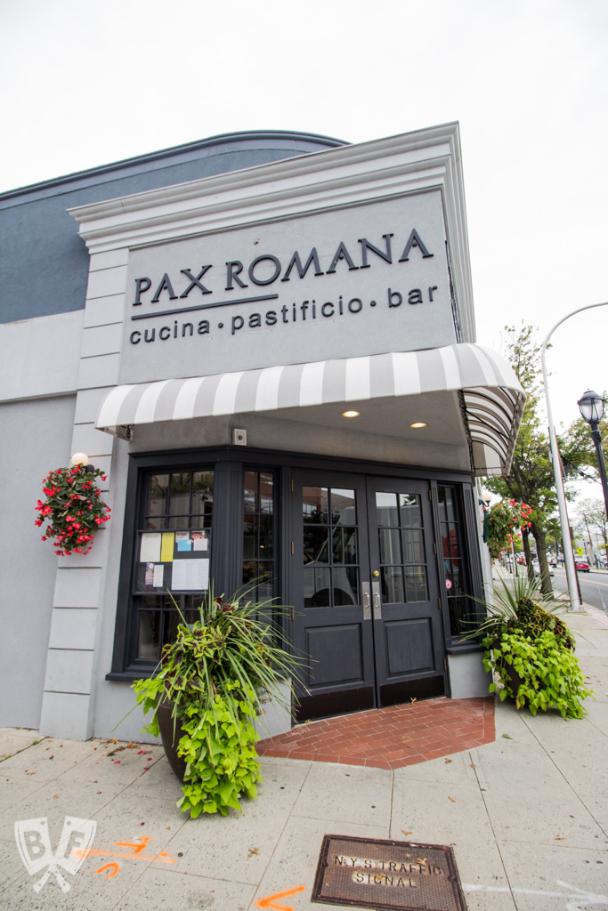 Big Flavors from a Restaurant Kitchen Volume 15: Pax Romana - This installment features a new favorite local Italian restaurant + Q&A with Chef Cristian Petitta, who is bringing the best of each region of his native Italy to Westchester County, New York.