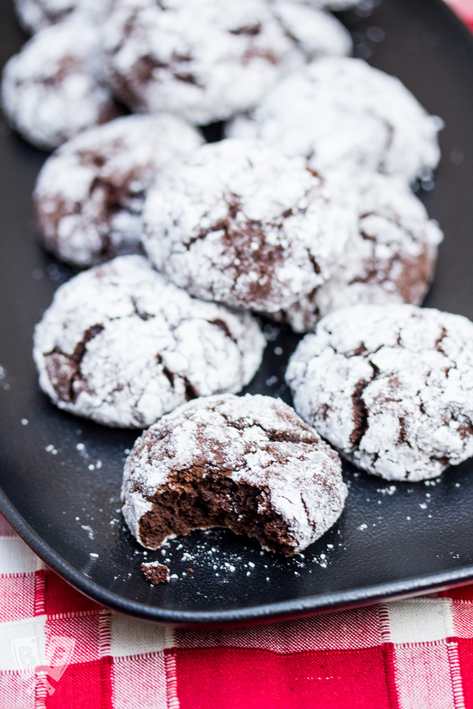 Spiced Chocolate Crinkle Cookies: Two types of dark chocolate make these cookies deliciously rich and chewy.