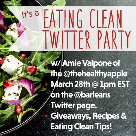 Barleans Eat Clean Twitter Party #eatcleanwithbarleans #ad