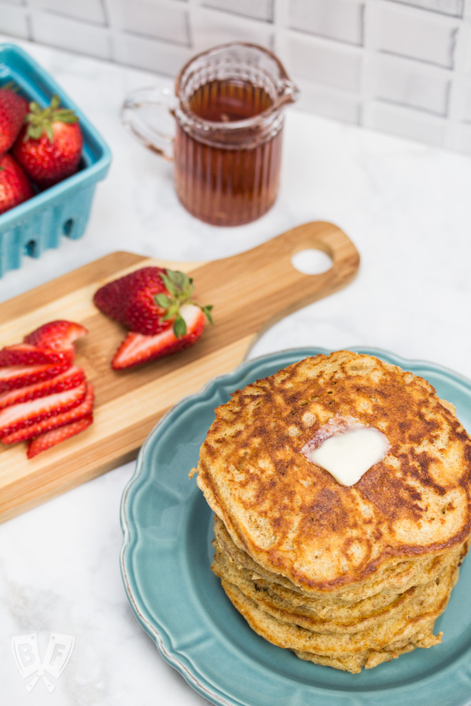 Our Favorite Buttermilk Pancakes: The fluffiest pancakes you've ever had are less than 30 minutes away! These light, airy buttermilk pancakes are hands-down one of our favorite breakfast recipes.