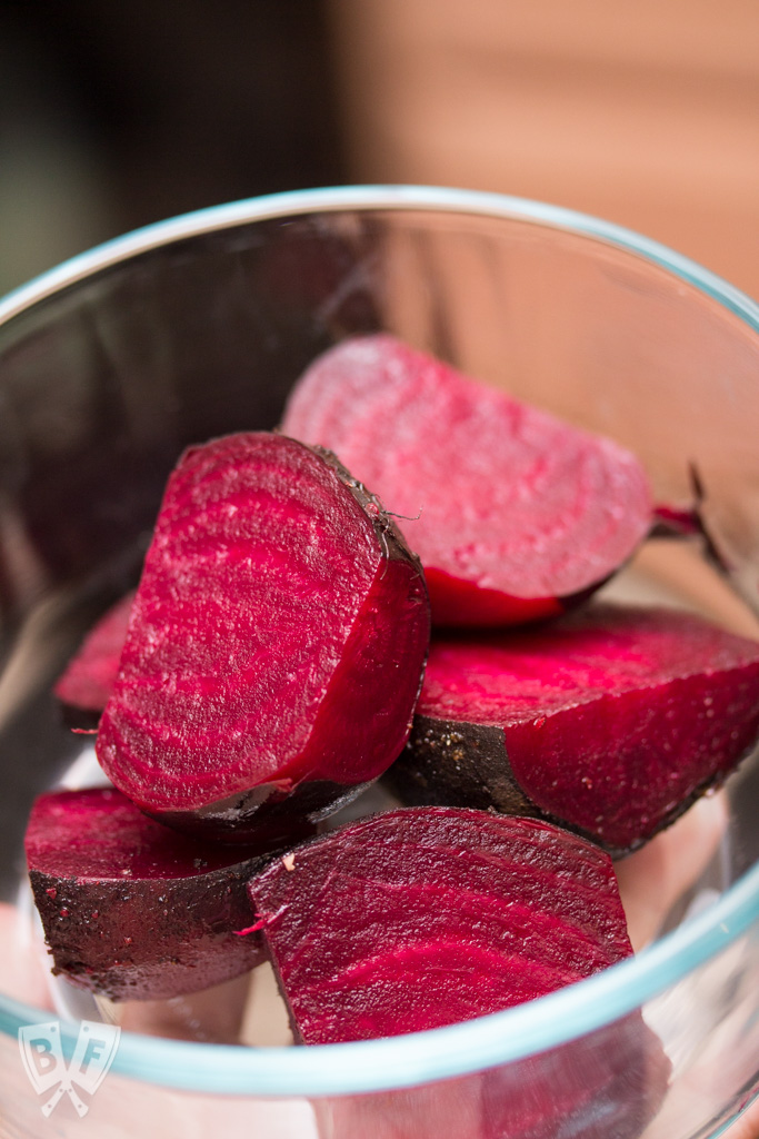 "Slow Cooker ""Roasted"" Beets: Roast your own beets at home with less fuss by using your slow cooker - no need to turn on your oven!"