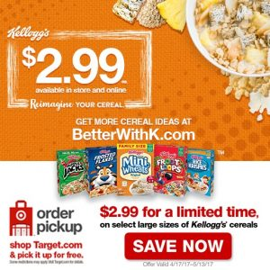 Kellogg Cereal Portfolio at Target #ReimagineYourCereal #CollectiveBias #ad