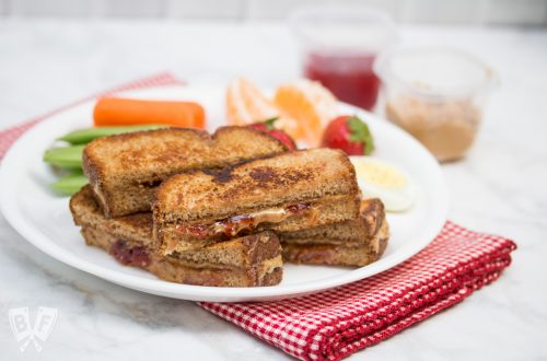 #AD Grilled PB&J Sticks: Grilled cheese sandwiches don't get to have all the fun - take your everyday peanut butter and jelly sandwich to the next level by grilling + dipping! #ShopRitePBJLove #CollectiveBias