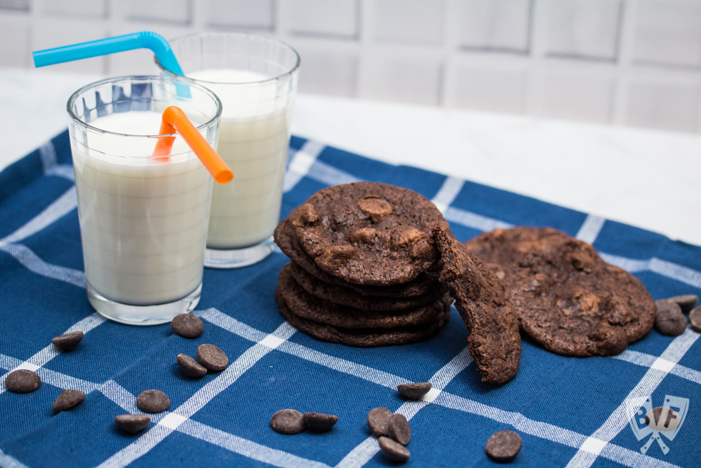 These Melt-in-Your-Mouth Buttermilk Chocolate Cookies are a supremely chocolatey dessert recipe that is a great way to use a partial container of buttermilk - guaranteed to satisfy even the strongest chocolate cravings.