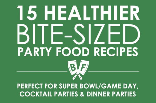 15 Healthier Bite-sized Party Food Recipes for Game Day