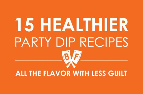 Dips are one of the best parts of any party spread. This list of 15 healthier party dip recipes will bring all the flavor to your appetizer table without most of the guilt!