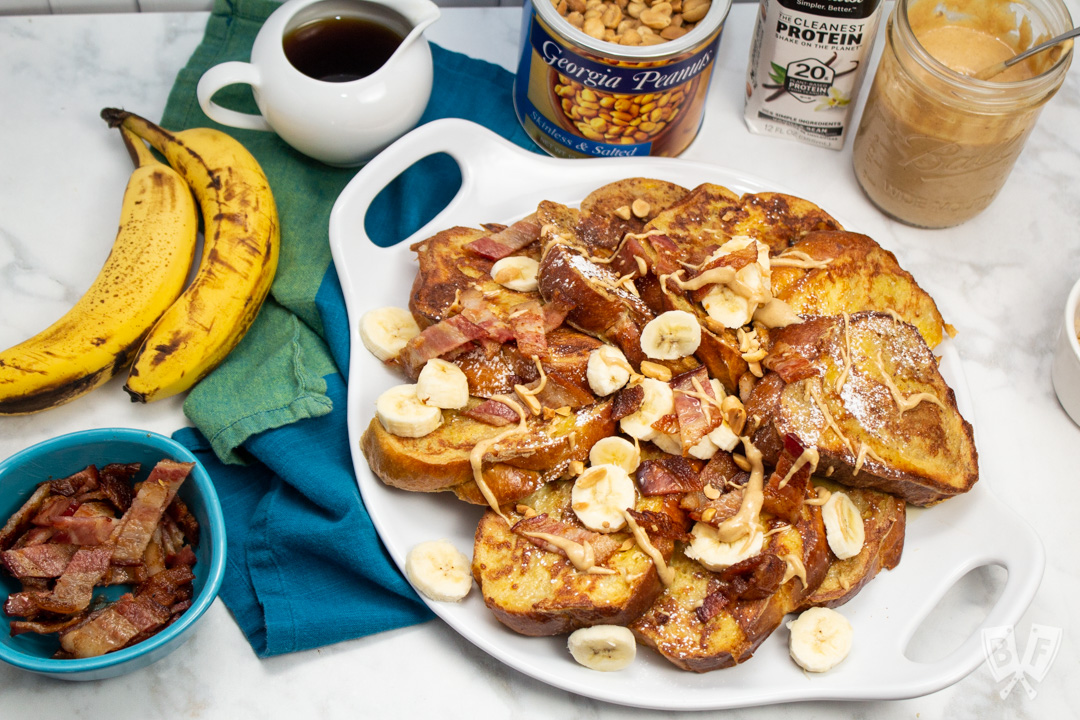 Elvis-Style Challah French Toast