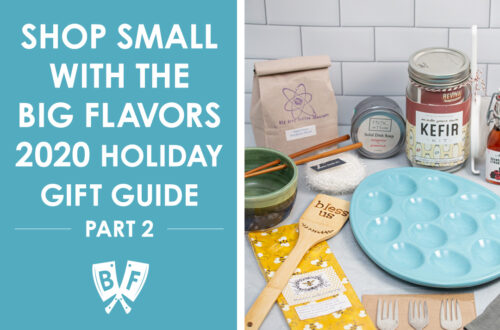 Assortment of holiday gift ideas for foodies from from Bliss Co-op.
